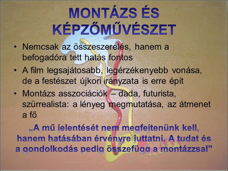 MONTÁZS ÉS KÉPZŐMŰVÉSZET