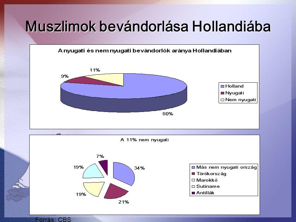 Muszlimok bevándorlása Hollandiába
