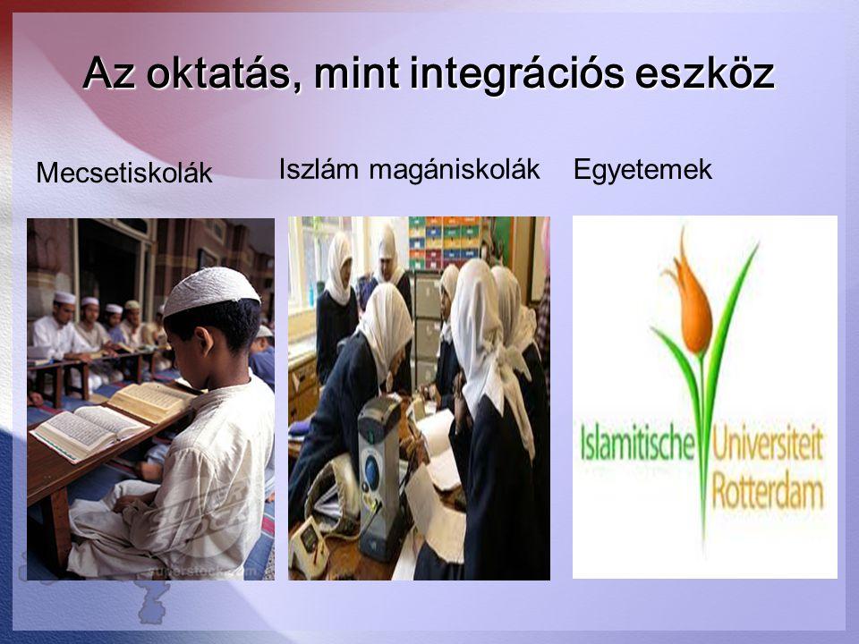 Az oktatás, mint integrációs eszköz
