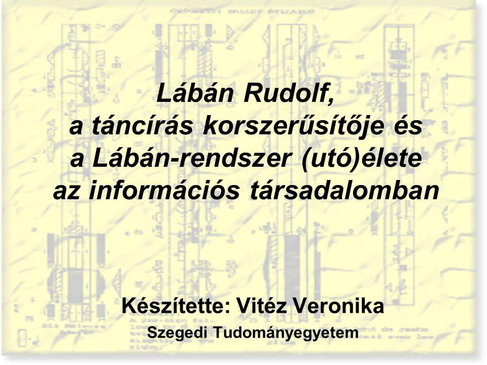 Készítette: Vitéz Veronika Szegedi Tudományegyetem