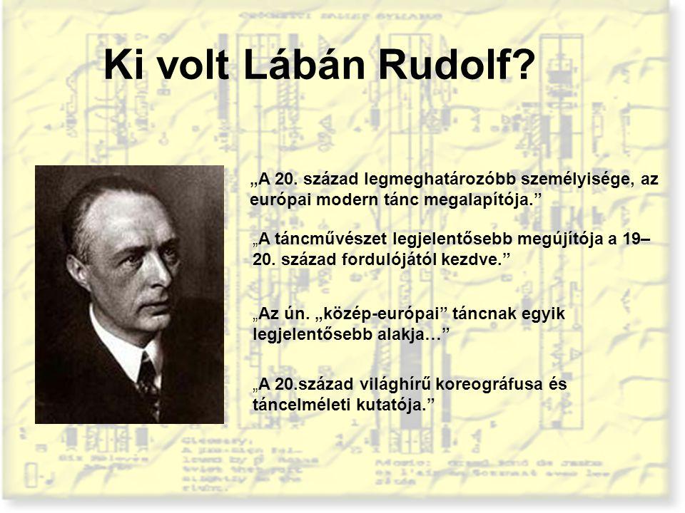 """Ki volt Lábán Rudolf """"A 20. század legmeghatározóbb személyisége, az európai modern tánc megalapítója."""