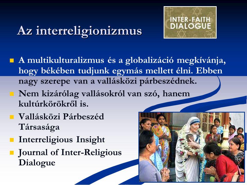 Az interreligionizmus
