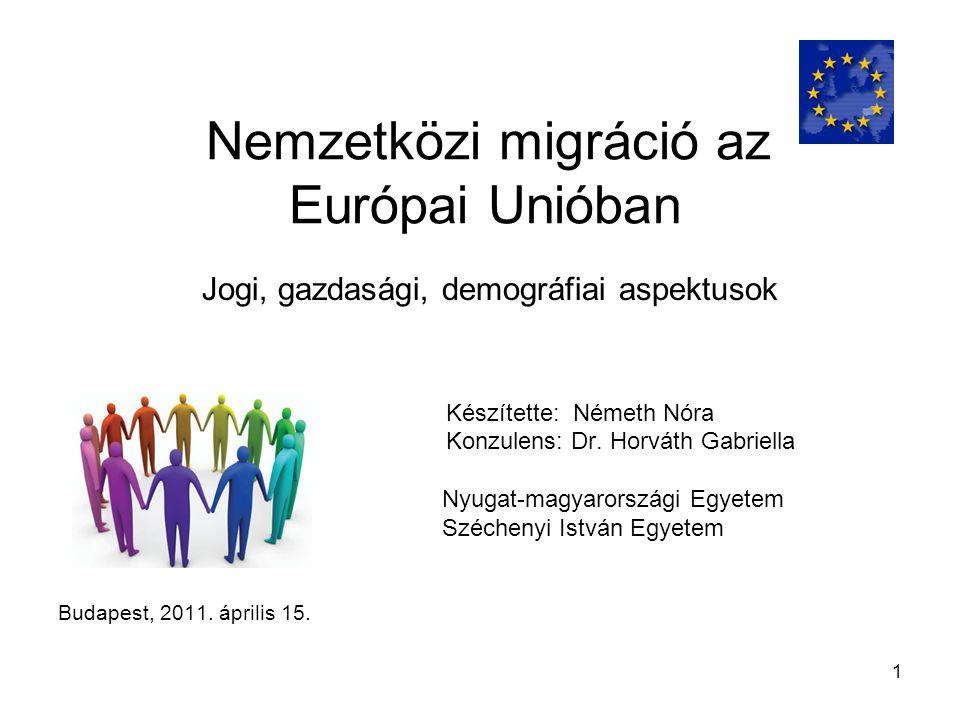 Nemzetközi migráció az Európai Unióban