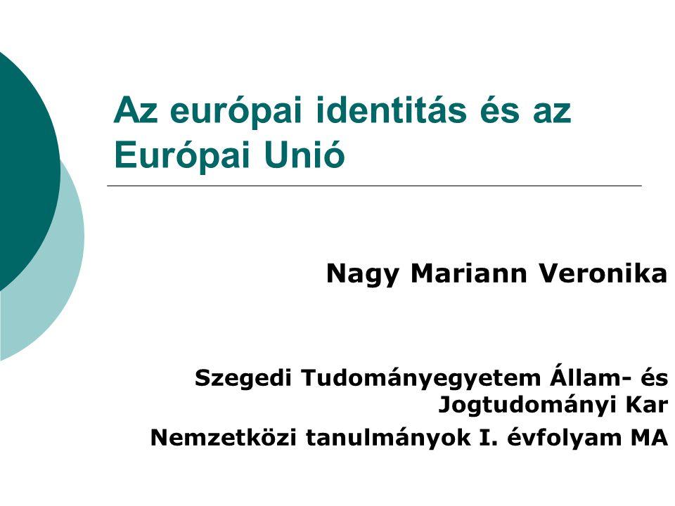 Az európai identitás és az Európai Unió