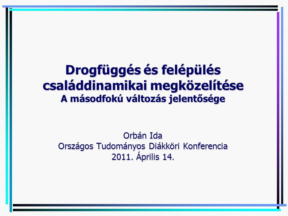 Orbán Ida Országos Tudományos Diákköri Konferencia 2011. Április 14.