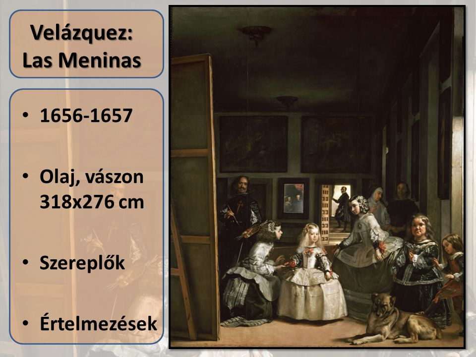 Velázquez: Las Meninas