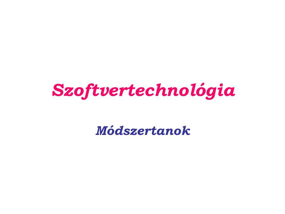 Szoftvertechnológia Módszertanok