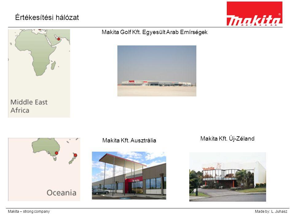 Értékesítési hálózat Makita Golf Kft. Egyesült Arab Emírségek