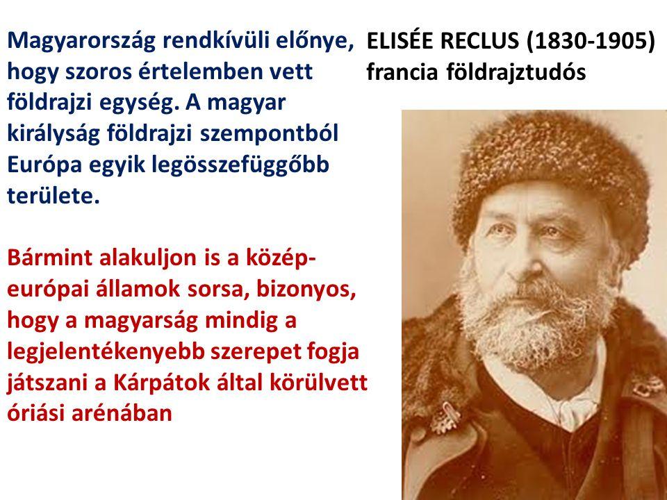 ELISÉE RECLUS (1830-1905) francia földrajztudós