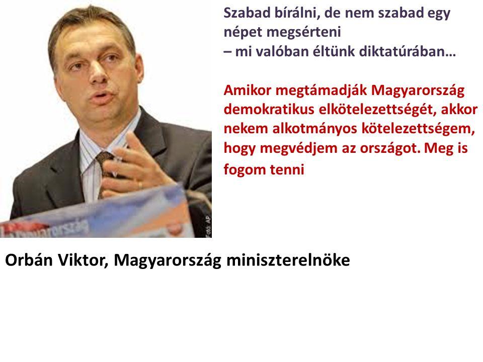Orbán Viktor, Magyarország miniszterelnöke