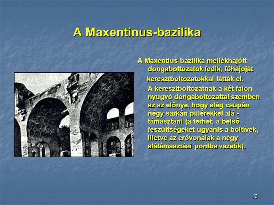 A Maxentinus-bazilika