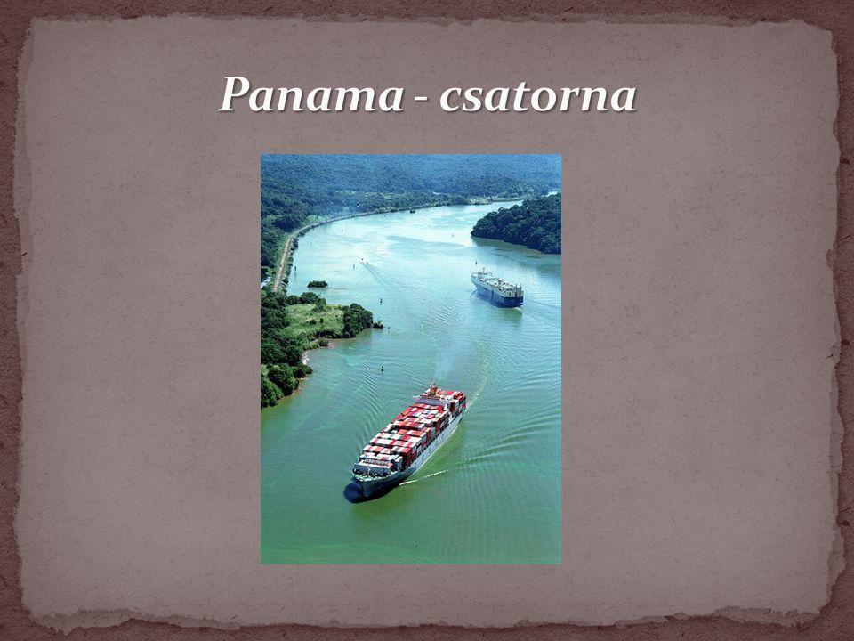 Panama - csatorna