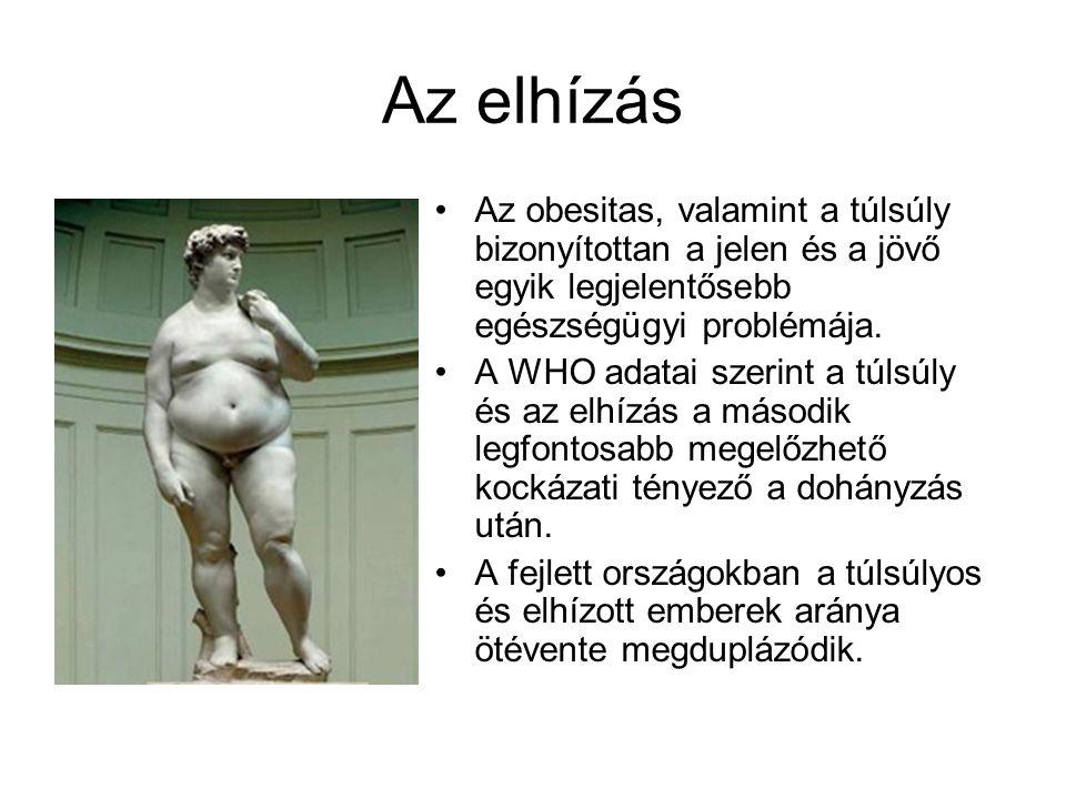 Az elhízás Az obesitas, valamint a túlsúly bizonyítottan a jelen és a jövő egyik legjelentősebb egészségügyi problémája.