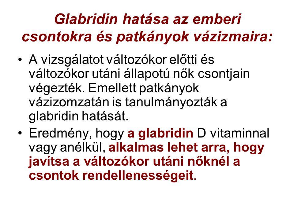 Glabridin hatása az emberi csontokra és patkányok vázizmaira: