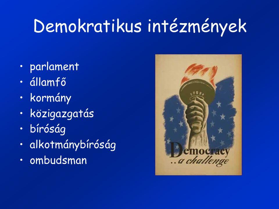 Demokratikus intézmények