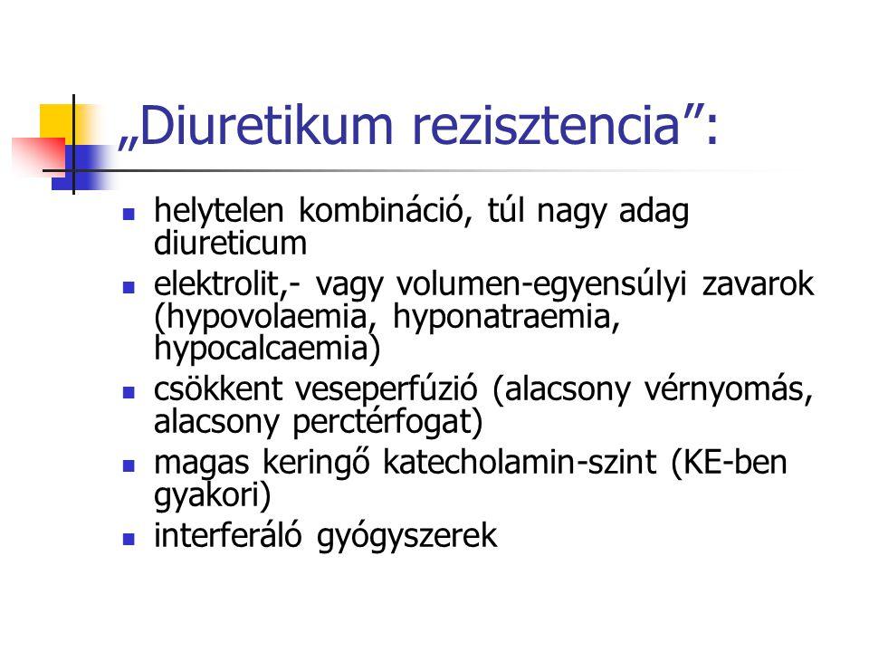 """""""Diuretikum rezisztencia :"""
