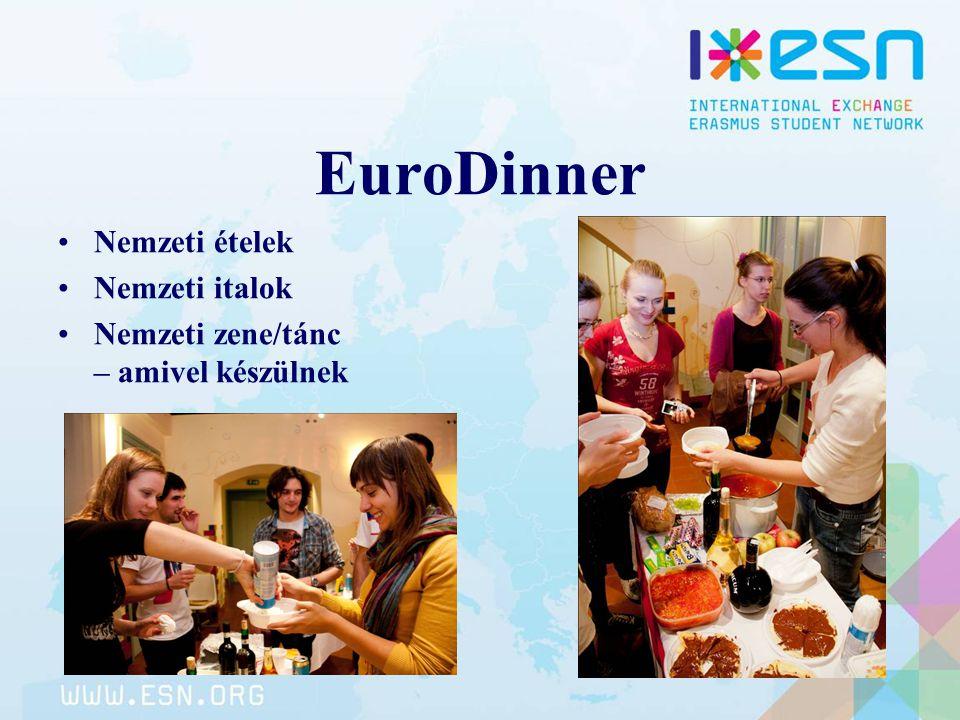 EuroDinner Nemzeti ételek Nemzeti italok