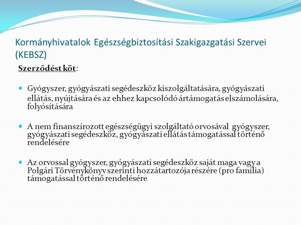 Kormányhivatalok Egészségbiztosítási Szakigazgatási Szervei (KEBSZ)