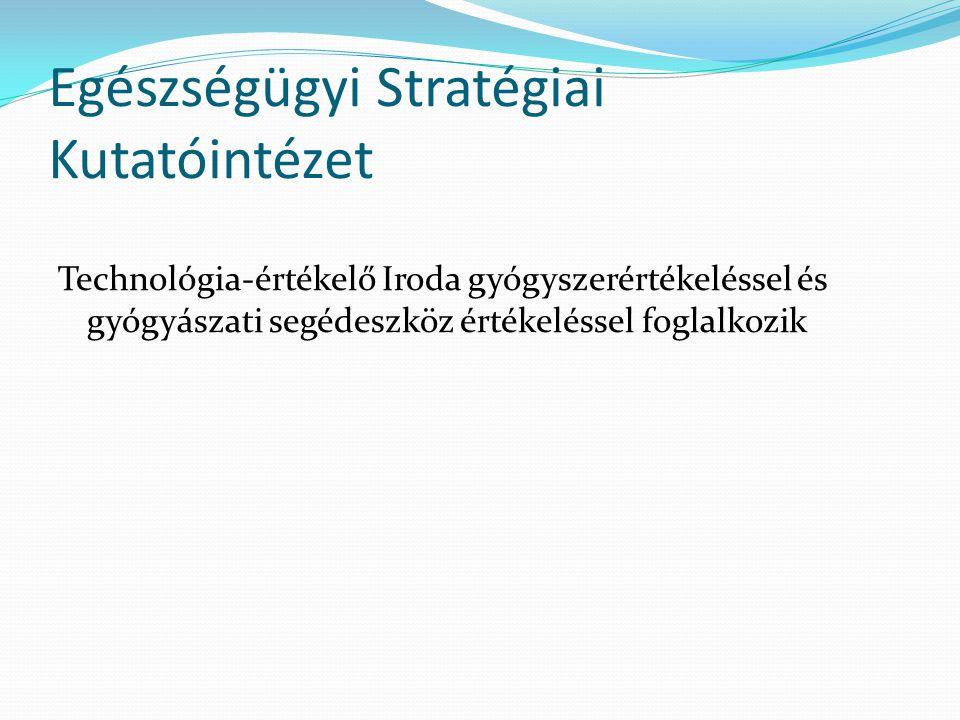 Egészségügyi Stratégiai Kutatóintézet