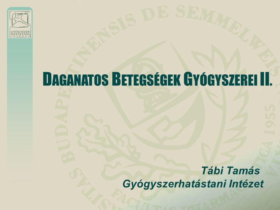 DAGANATOS BETEGSÉGEK GYÓGYSZEREI II.