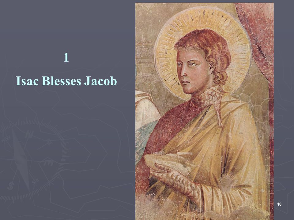 1 Isac Blesses Jacob.