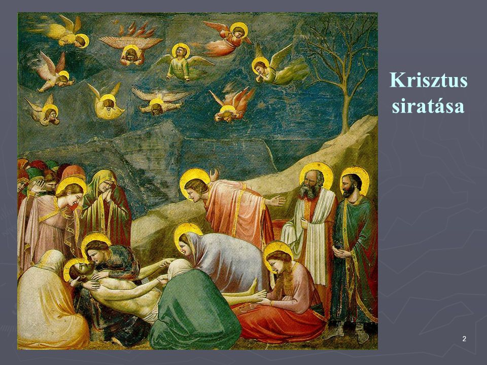 Krisztus siratása