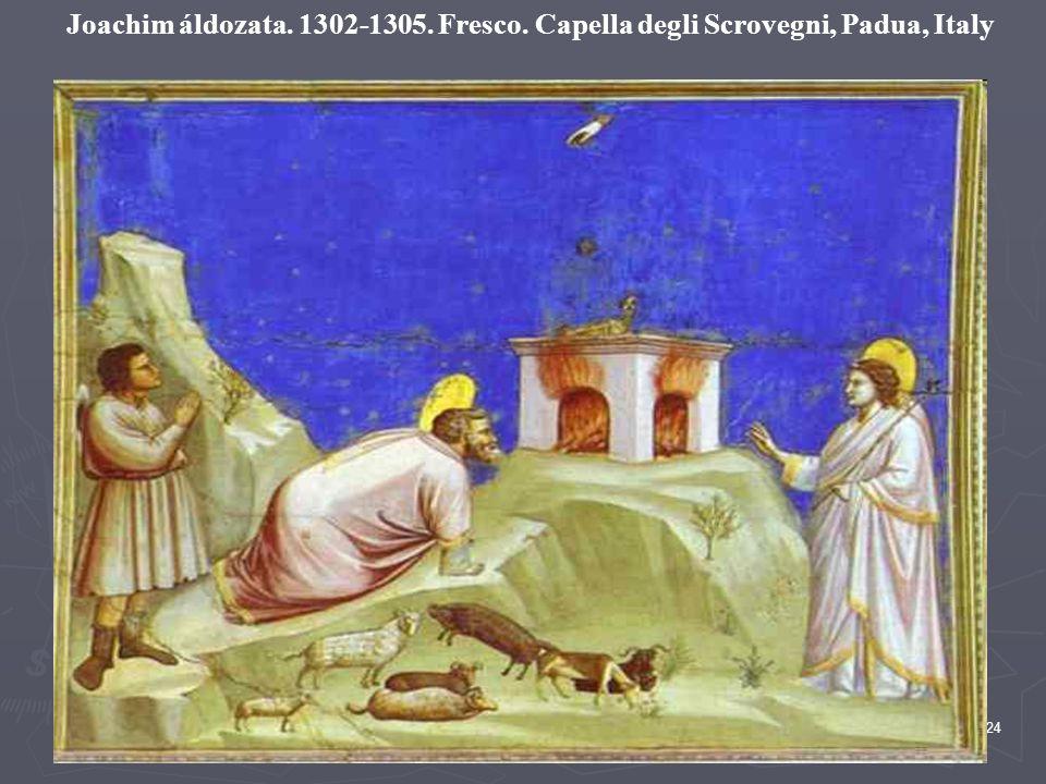 Joachim áldozata. 1302-1305. Fresco