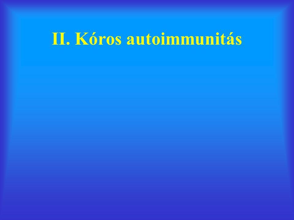 II. Kóros autoimmunitás
