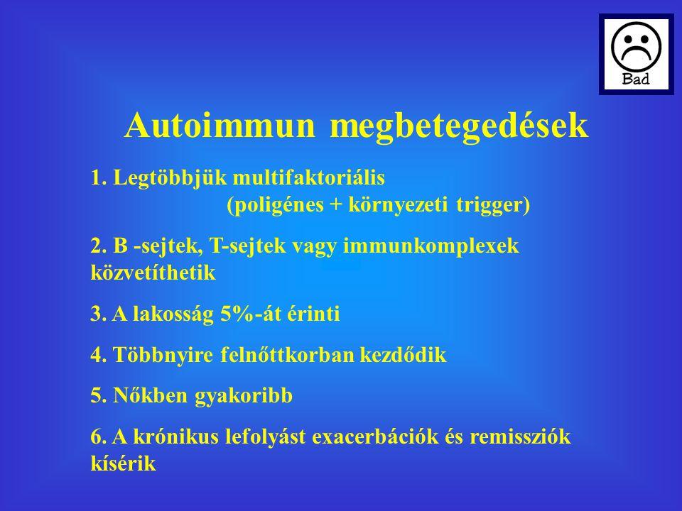 Autoimmun megbetegedések
