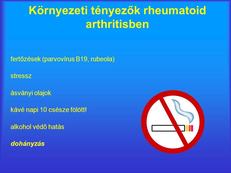 Környezeti tényezők rheumatoid arthritisben
