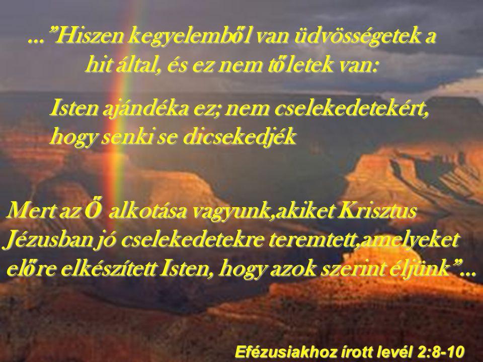 Efézusiakhoz írott levél 2:8-10