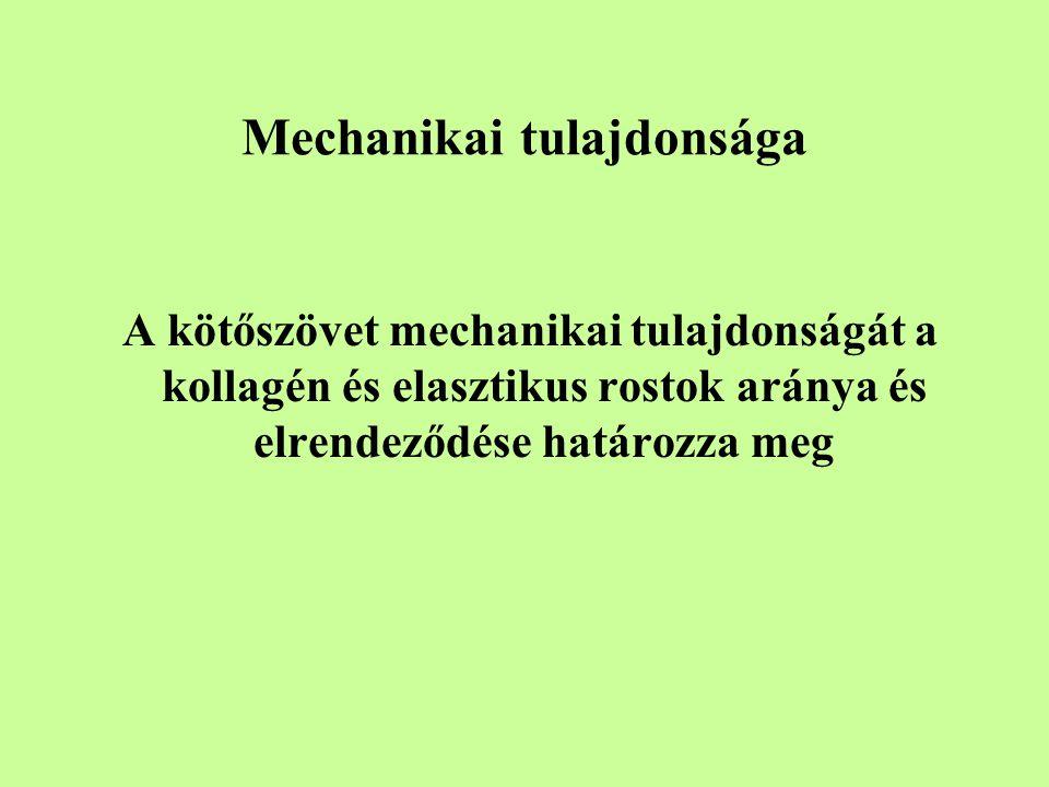 Mechanikai tulajdonsága