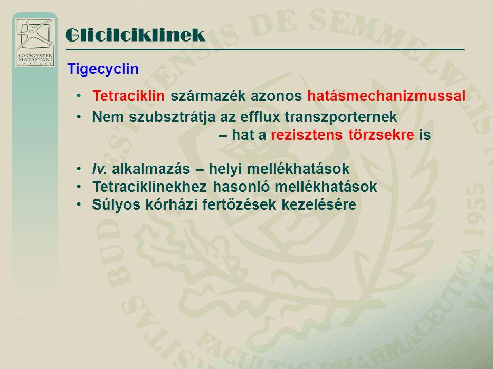 Glicilciklinek Tigecyclin