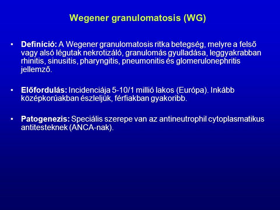 Wegener granulomatosis (WG)