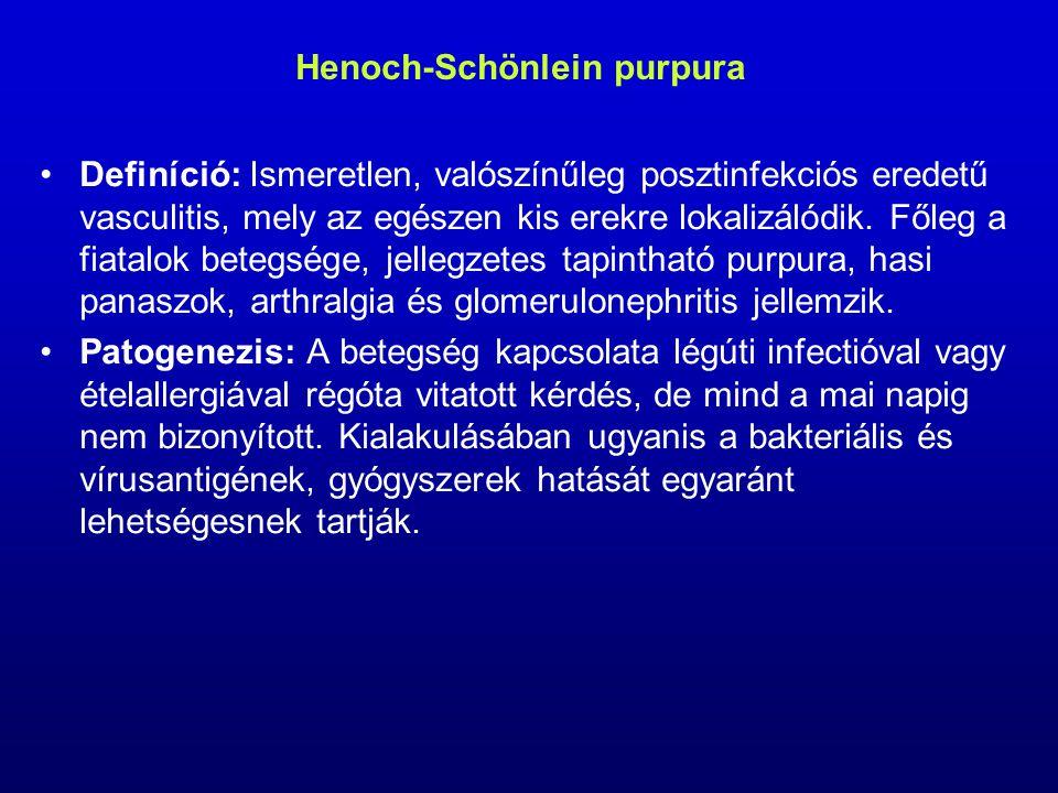Henoch-Schönlein purpura