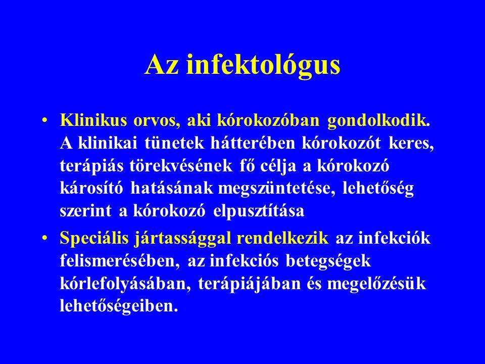 Az infektológus