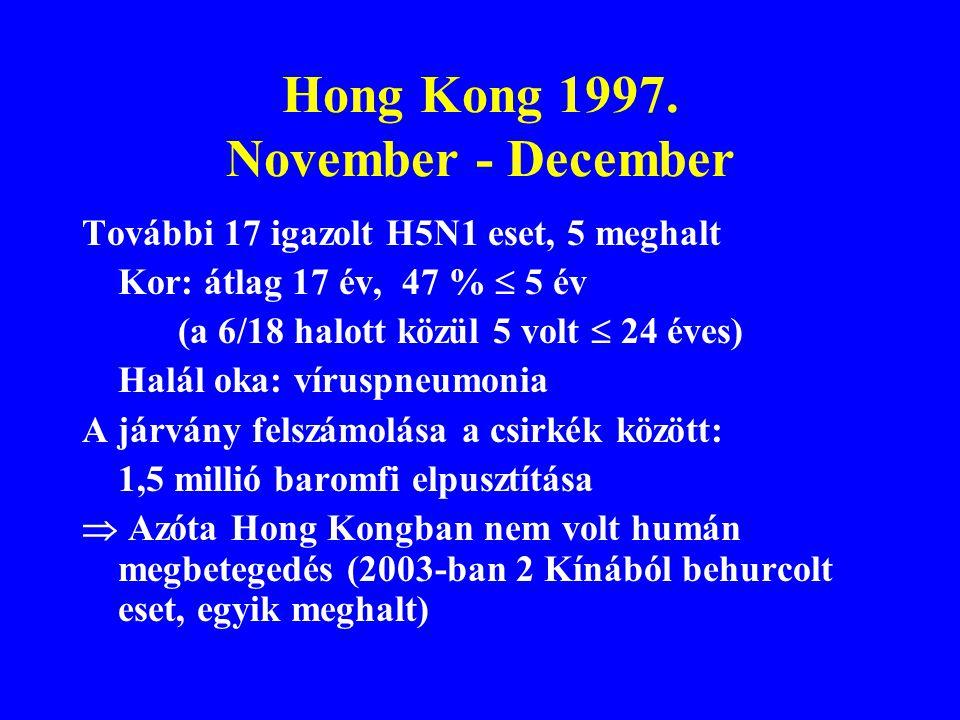 Hong Kong 1997. November - December