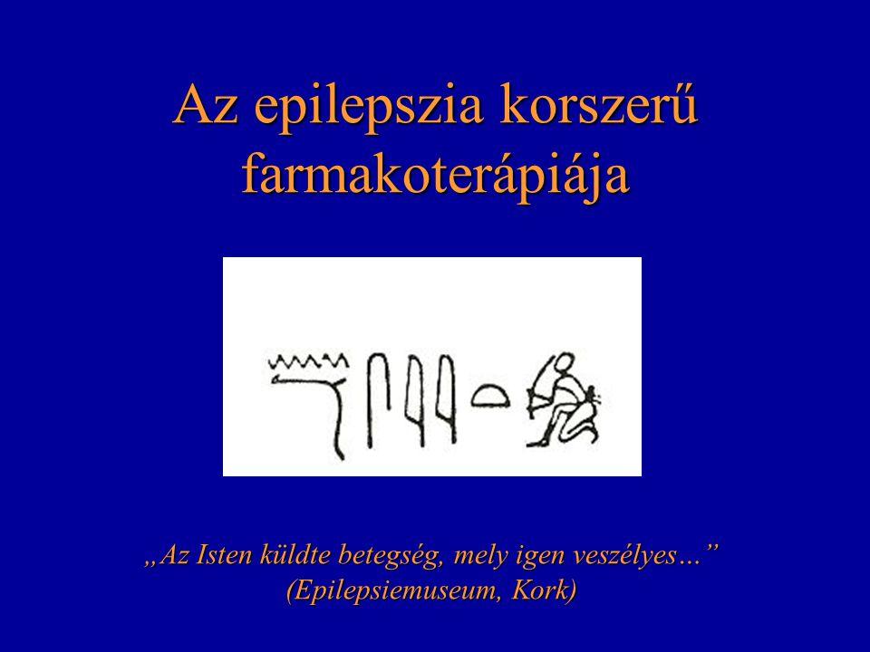 Az epilepszia korszerű farmakoterápiája