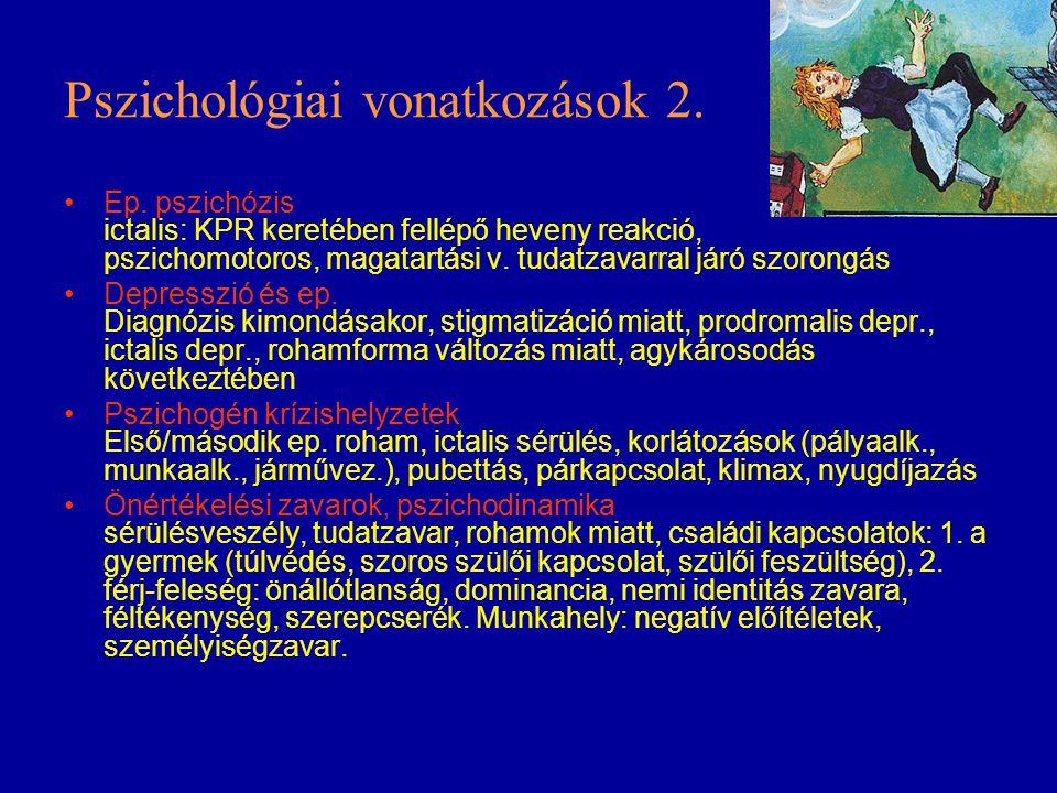 Pszichológiai vonatkozások 2.