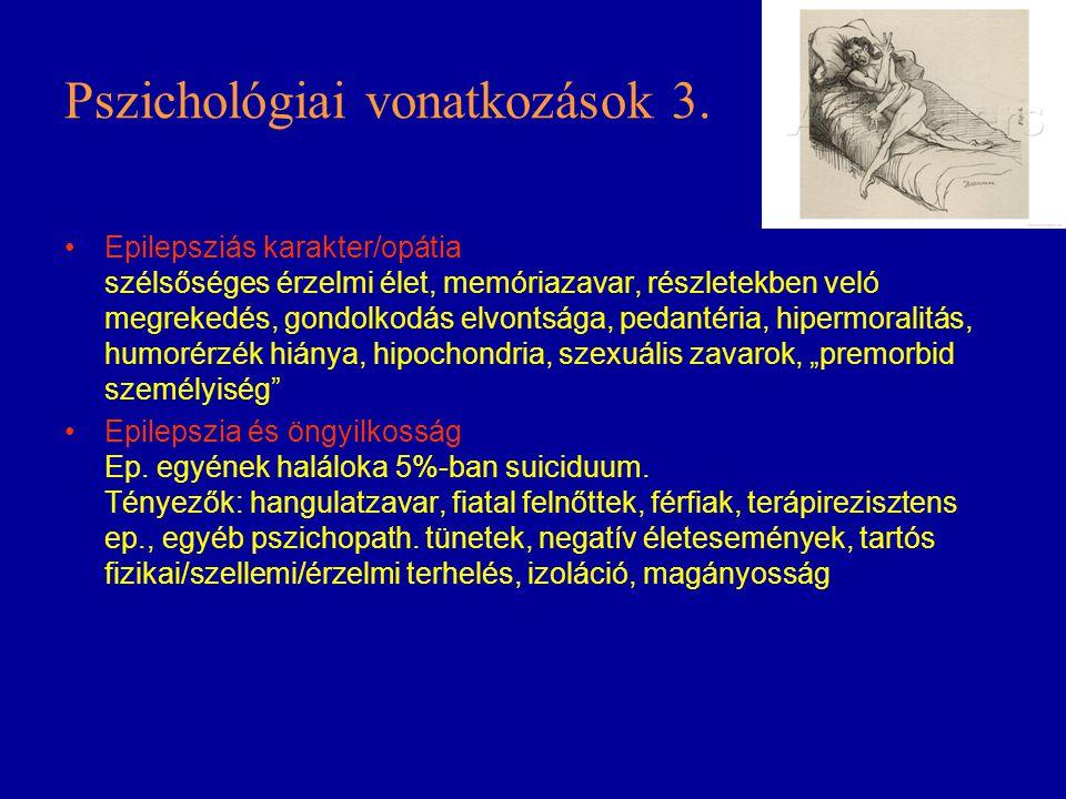 Pszichológiai vonatkozások 3.