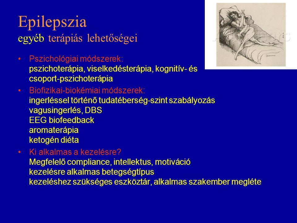 Epilepszia egyéb terápiás lehetőségei