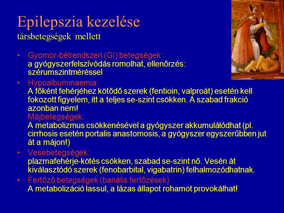 Epilepszia kezelése társbetegségek mellett