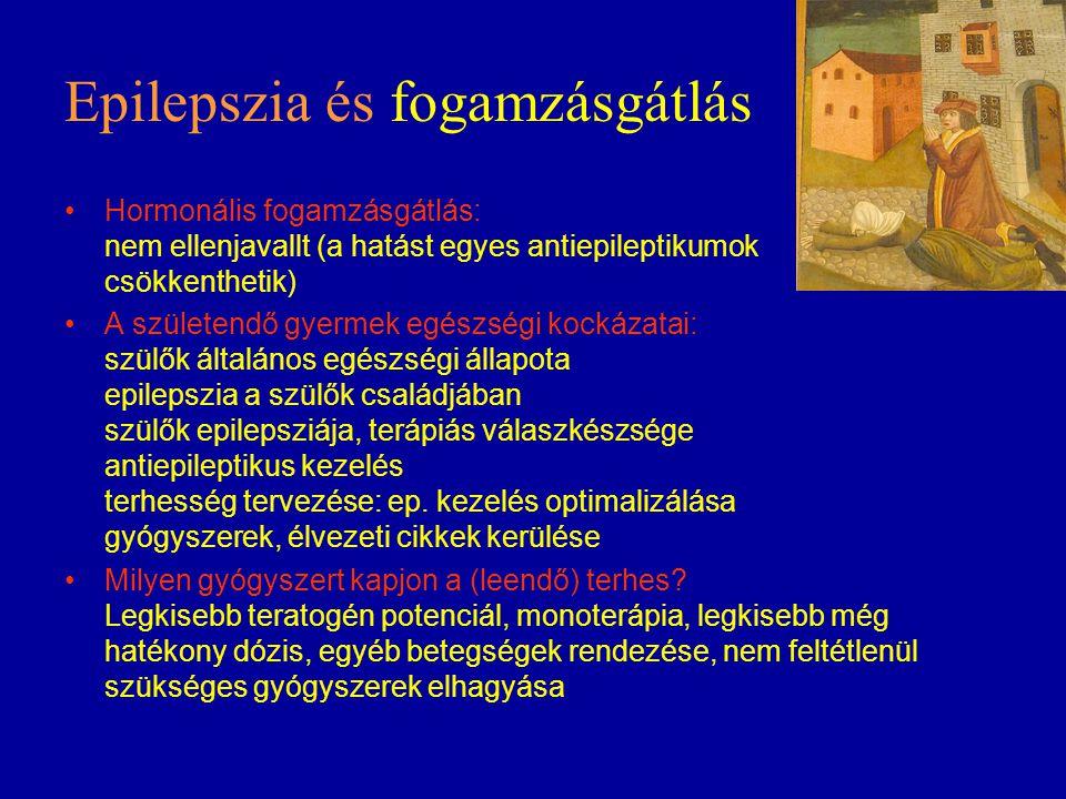 Epilepszia és fogamzásgátlás