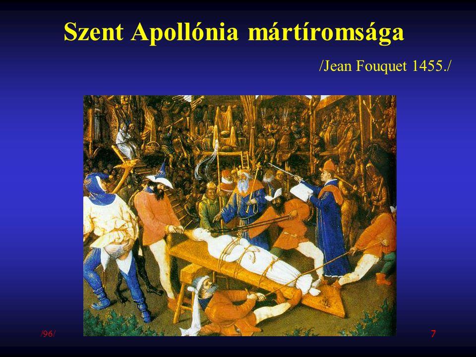 Szent Apollónia mártíromsága
