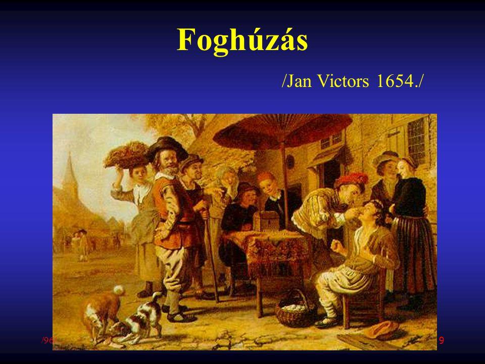 Foghúzás /Jan Victors 1654./ /96/