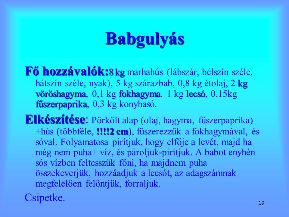 Babgulyás