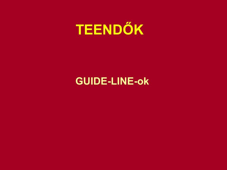 TEENDŐK GUIDE-LINE-ok