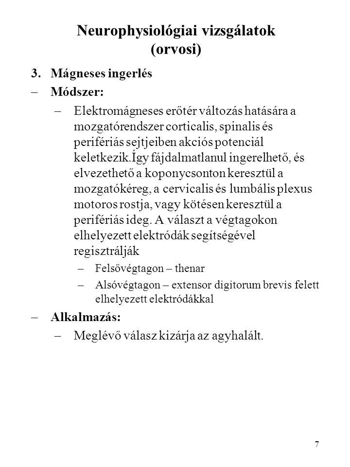 Neurophysiológiai vizsgálatok (orvosi)