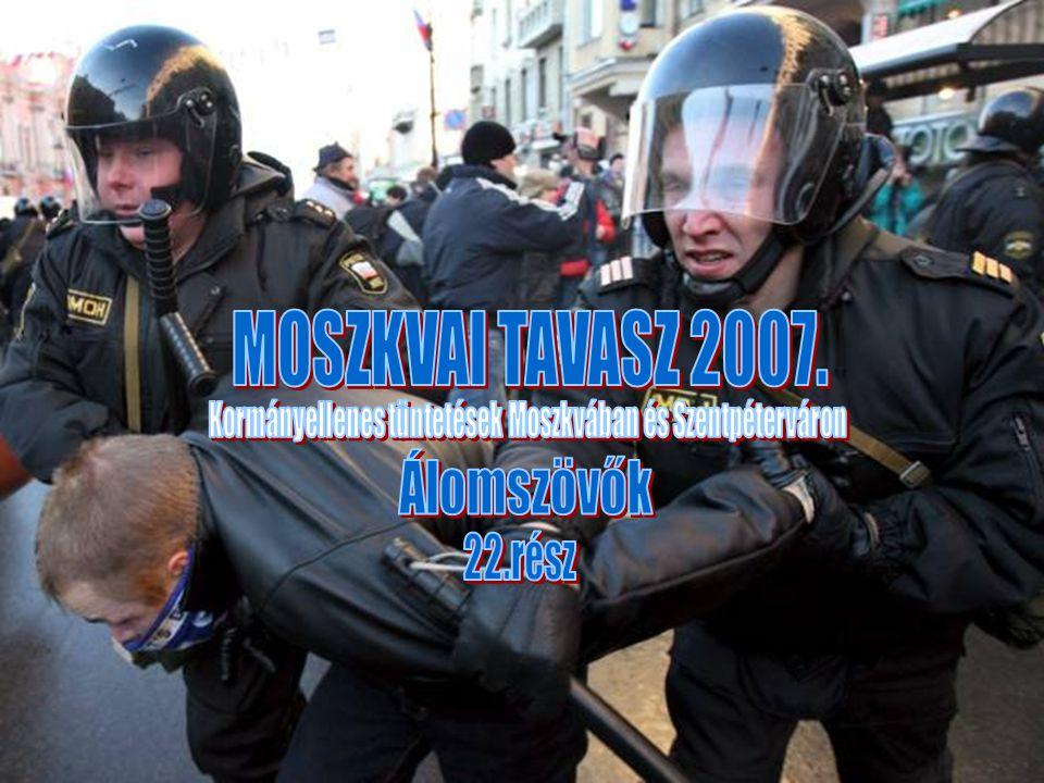 Kormányellenes tüntetések Moszkvában és Szentpéterváron
