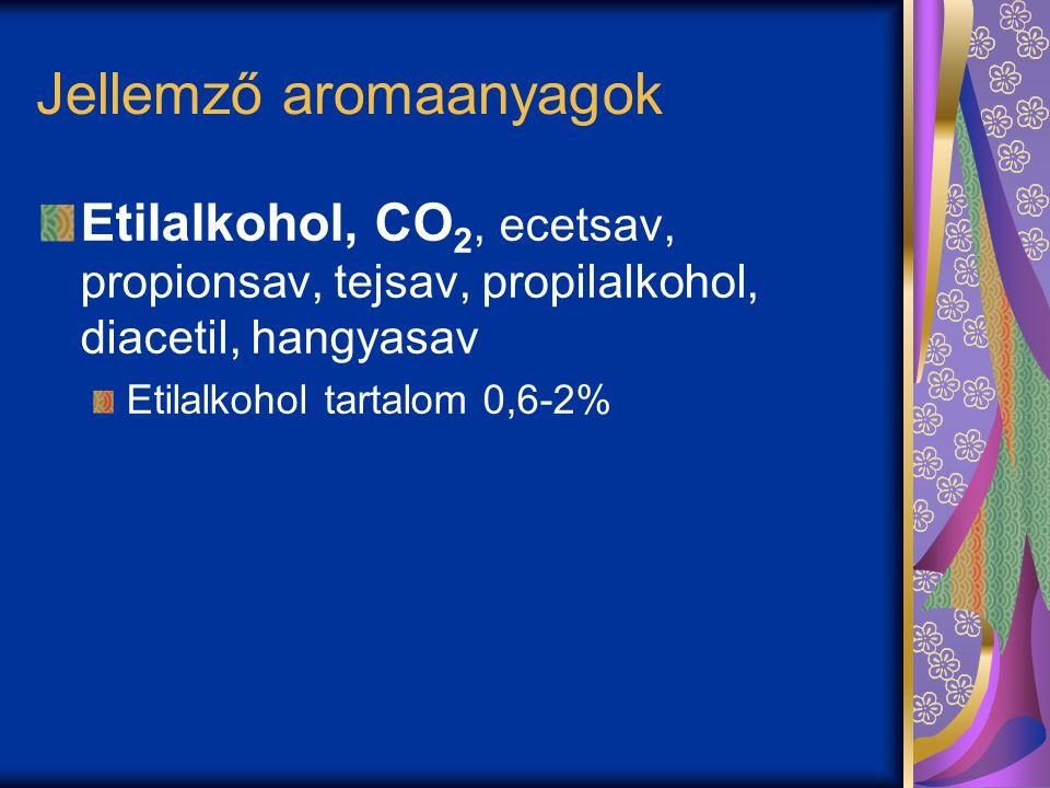 Jellemző aromaanyagok